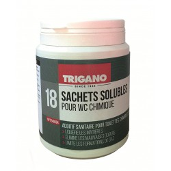 Soluble sachets for...